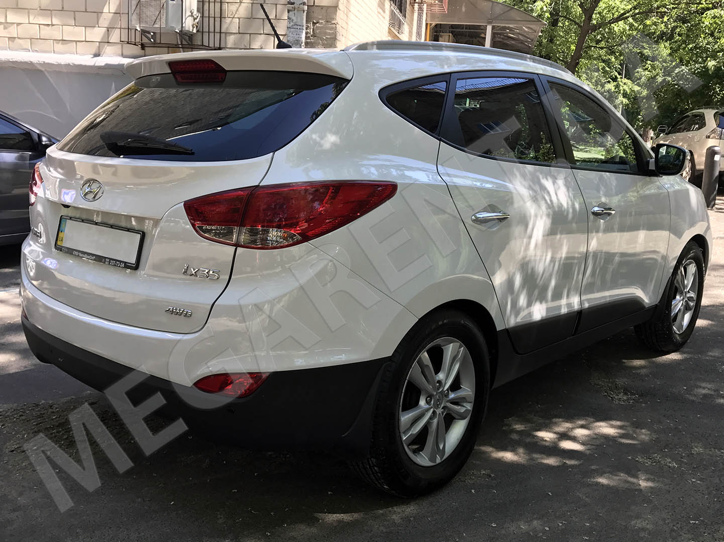 Car rental Hyundai ix35 in Kiev - photo 4