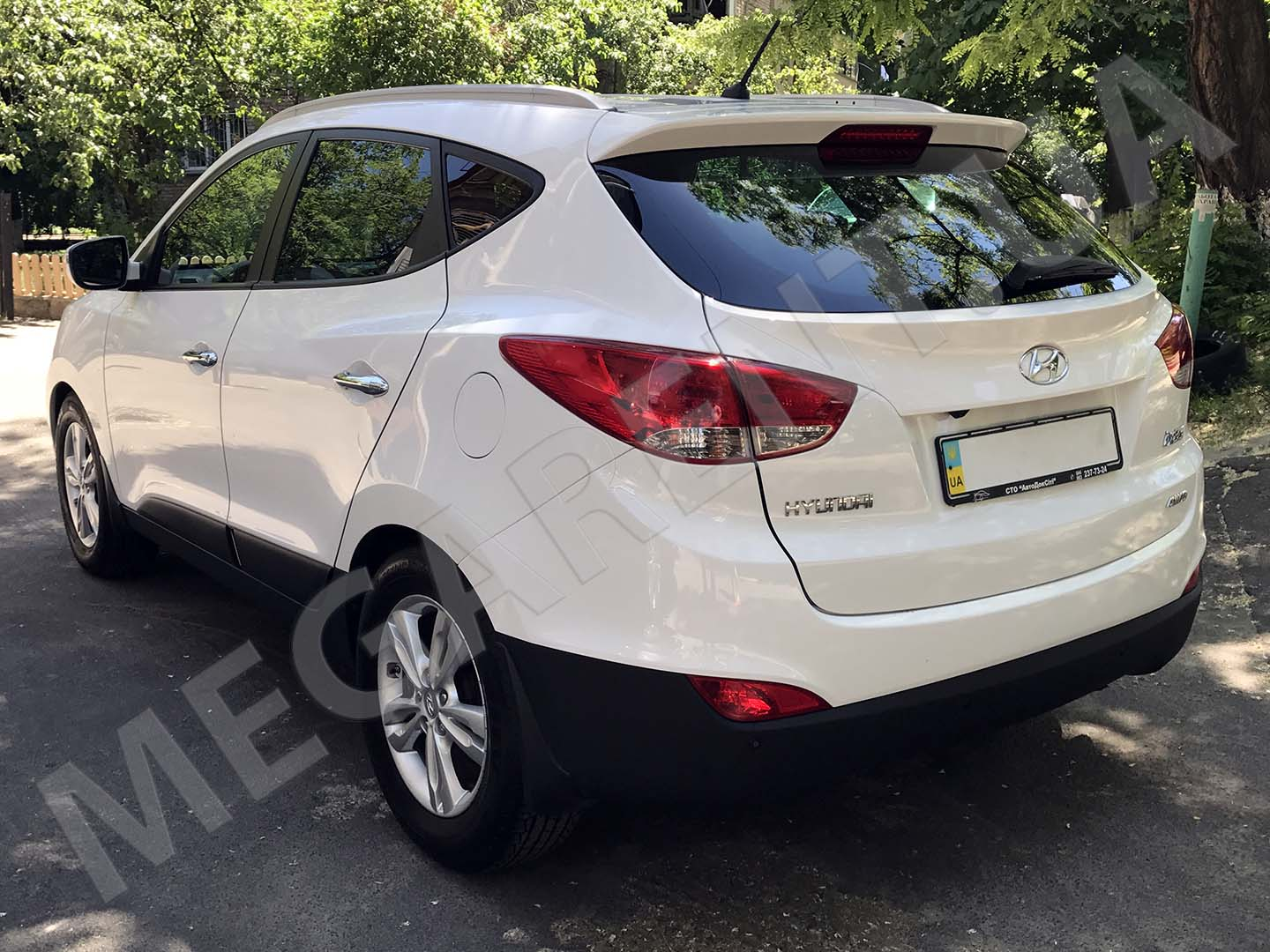 Car rental Hyundai ix35 in Kiev - photo 5