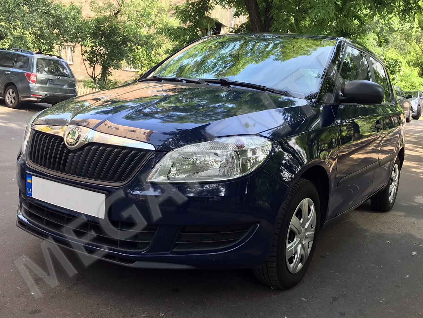 Car rental Skoda Fabia 2012 in Kiev - photo 2