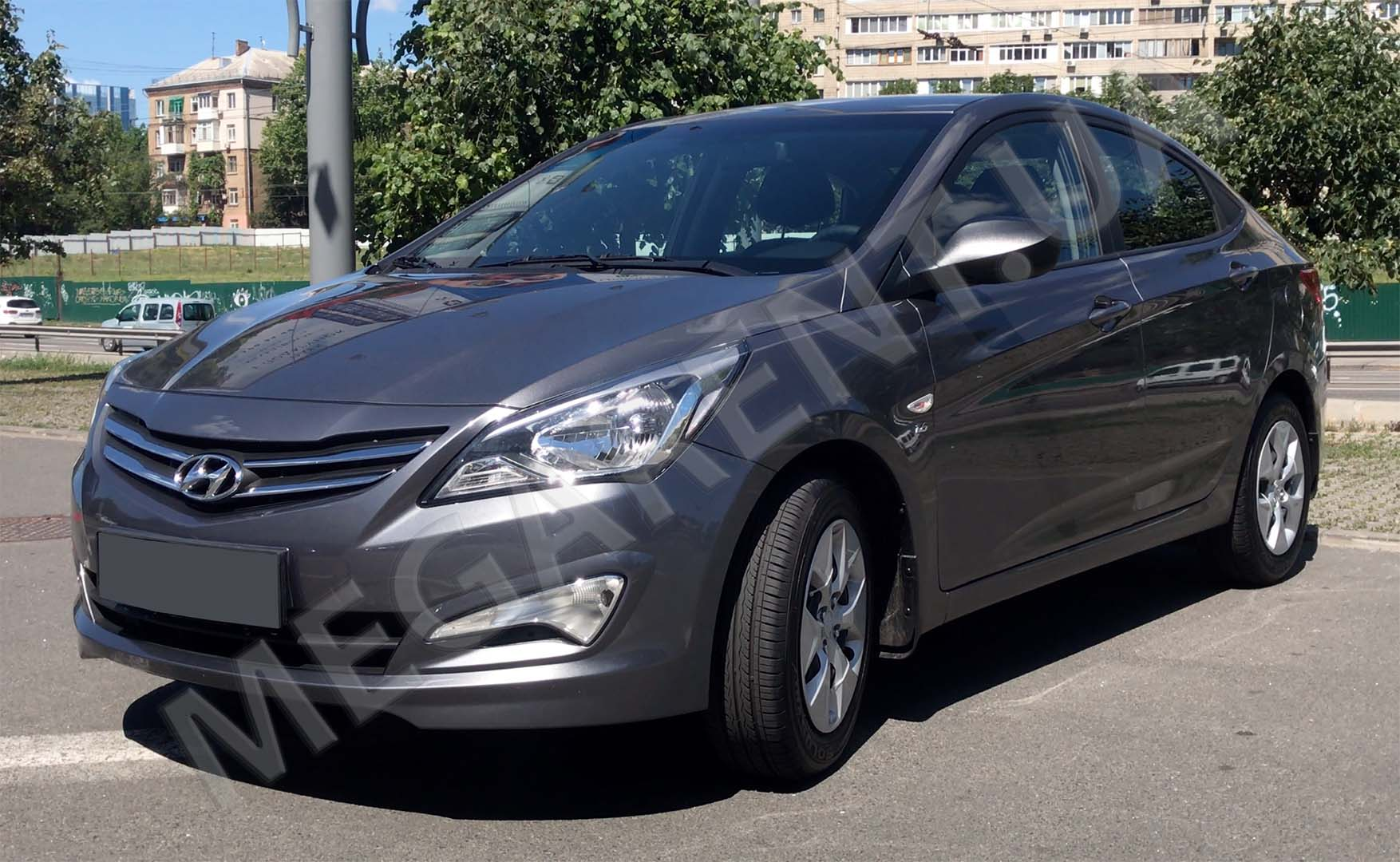 Car rental HYUNDAI SOLARIS (ACCENT) 2017 in Kiev - photo 2