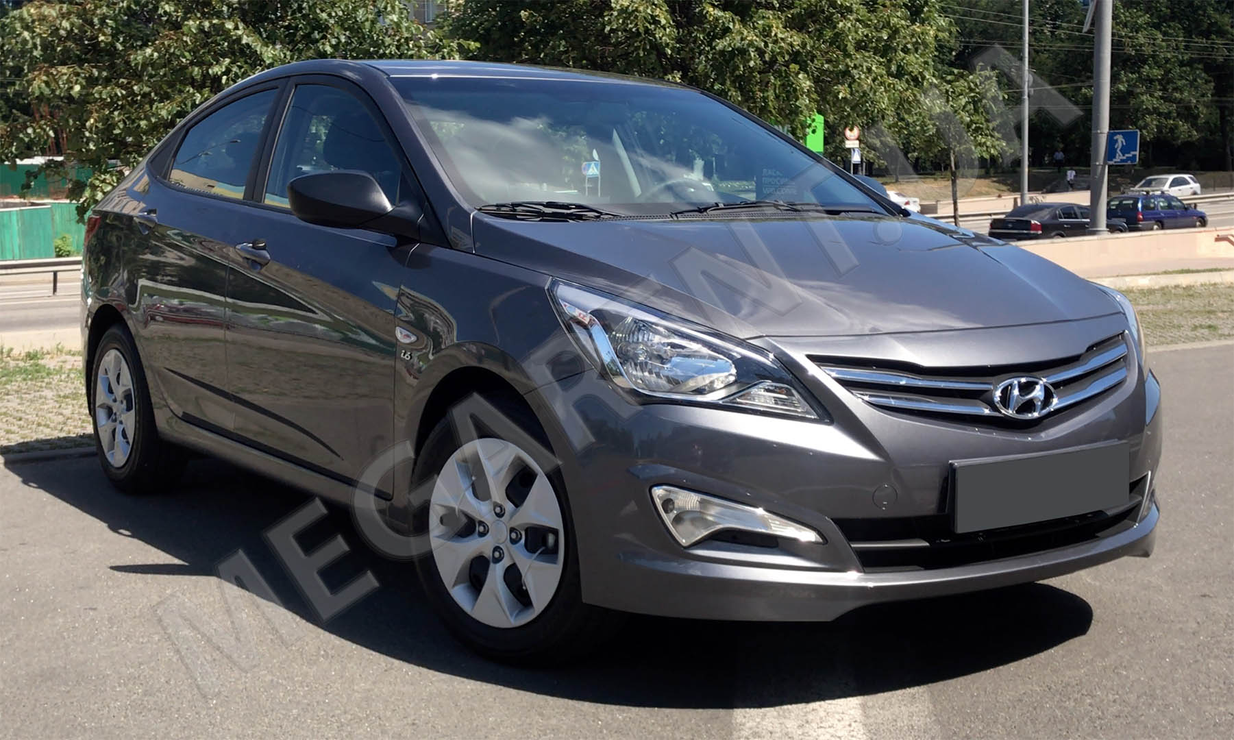 Car rental HYUNDAI SOLARIS (ACCENT) 2017 in Kiev - photo 3