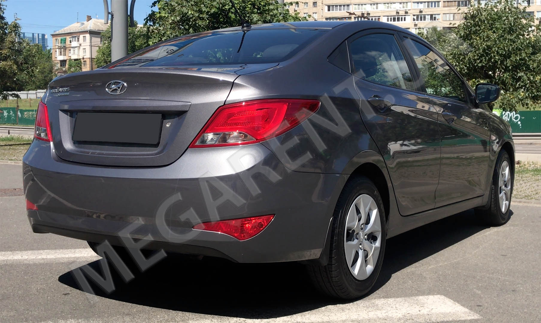 Car rental HYUNDAI SOLARIS (ACCENT) 2017 in Kiev - photo 4