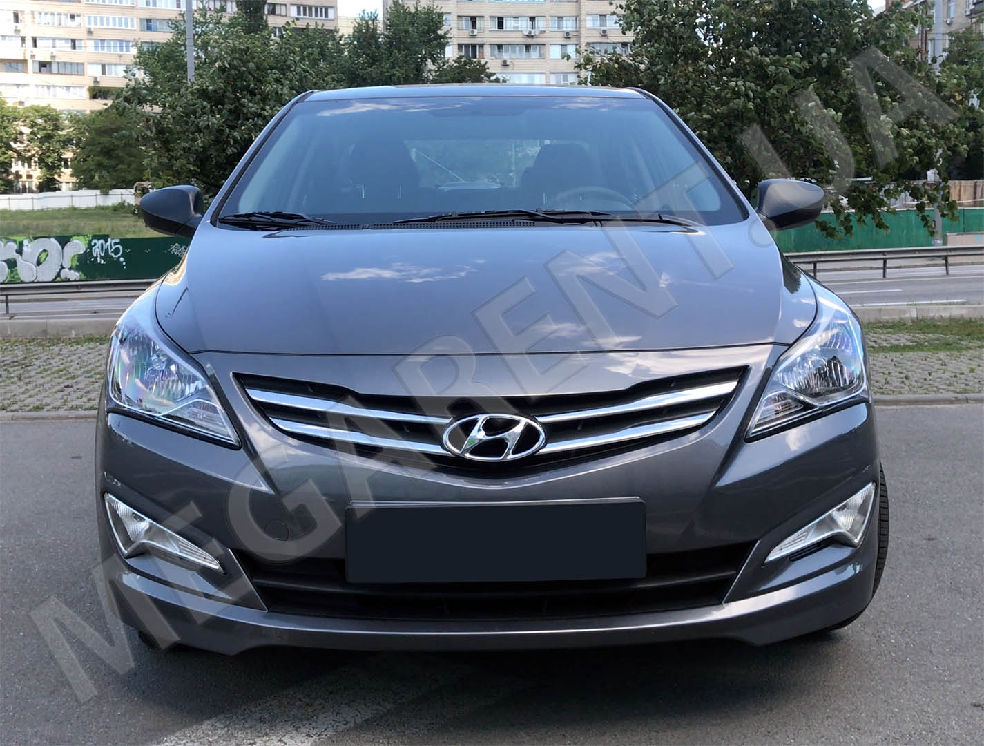 Car rental HYUNDAI SOLARIS (ACCENT) 2017 in Kiev - photo 6