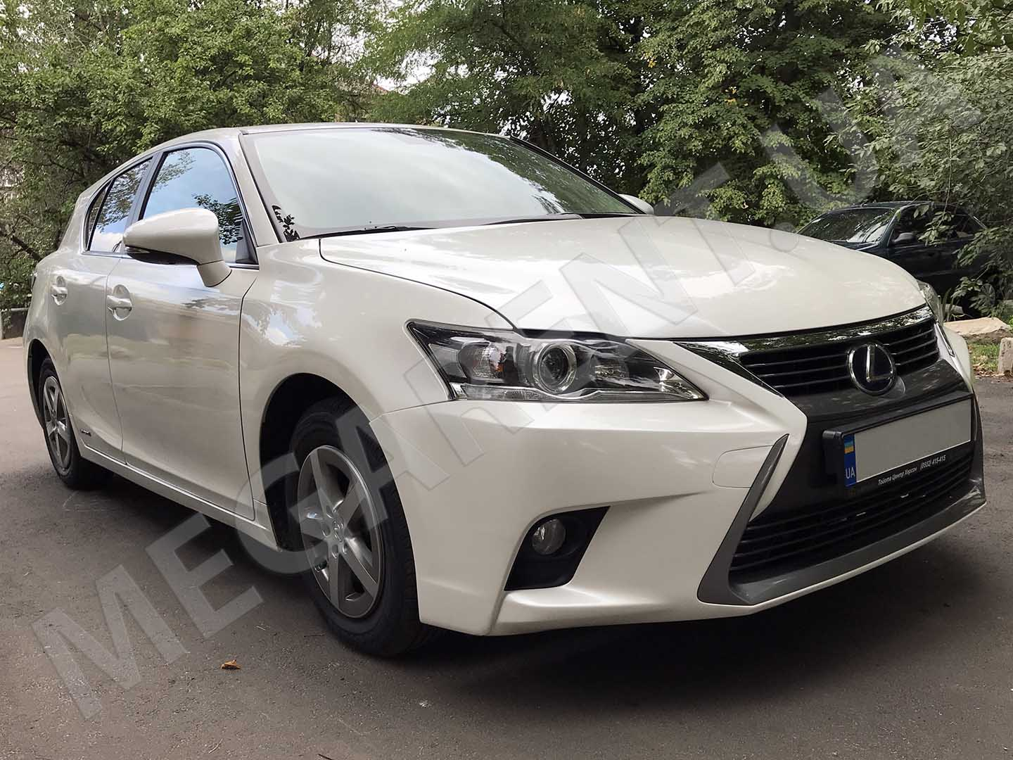 Car rental Lexus CT200h Hybrid in Kyiv - photo 3