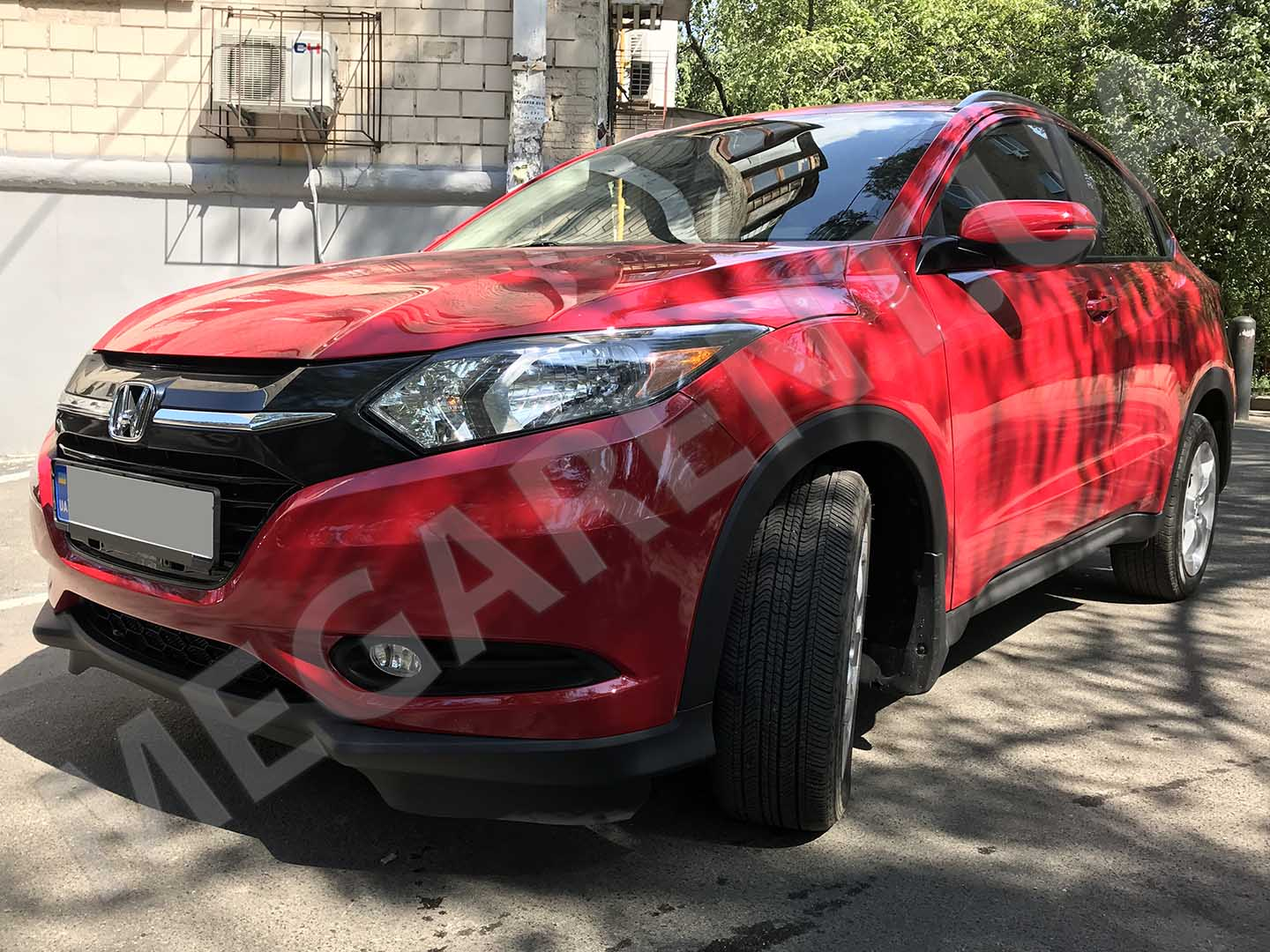 Car rental Honda HR-V 2016 in Kyiv - photo 2