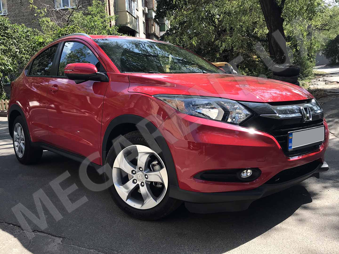 Car rental Honda HR-V 2016 in Kyiv - photo 3