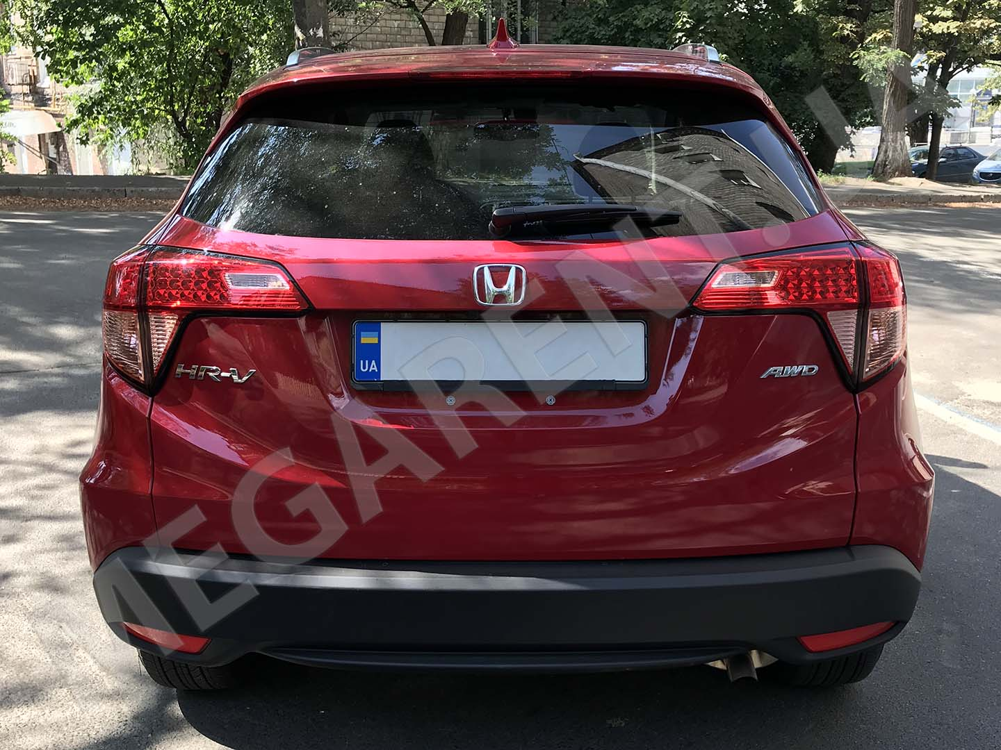 Car rental Honda HR-V 2016 in Kyiv - photo 7