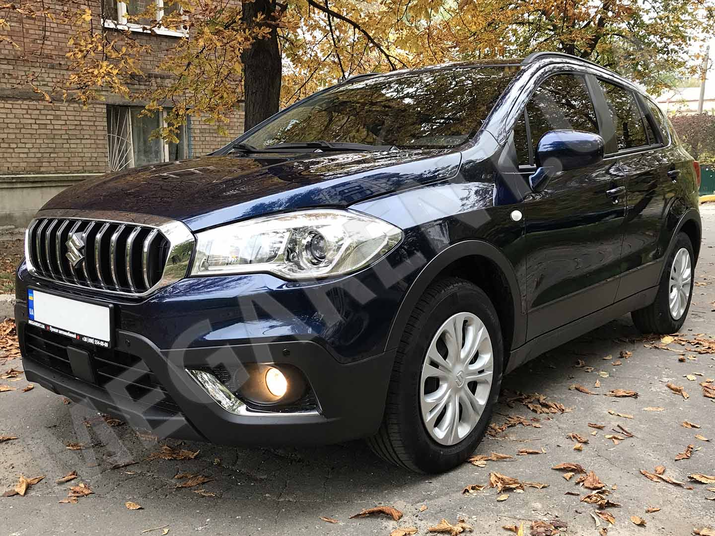 Car rental Suzuki SX4 2017 in Kyiv - photo 2