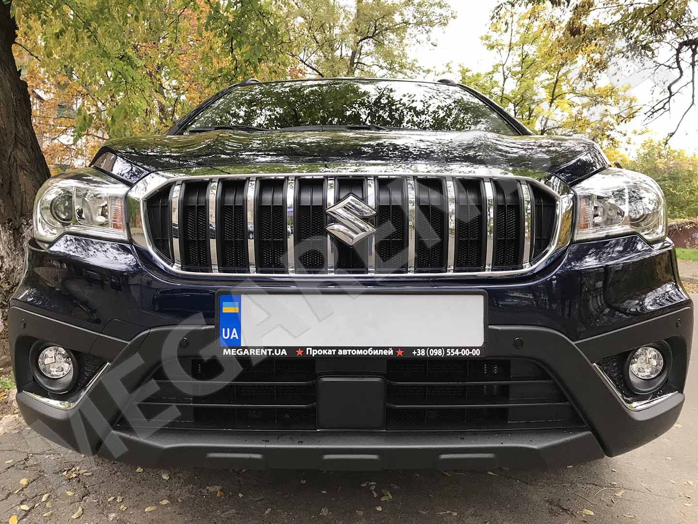 Car rental Suzuki SX4 2017 in Kyiv - photo 6