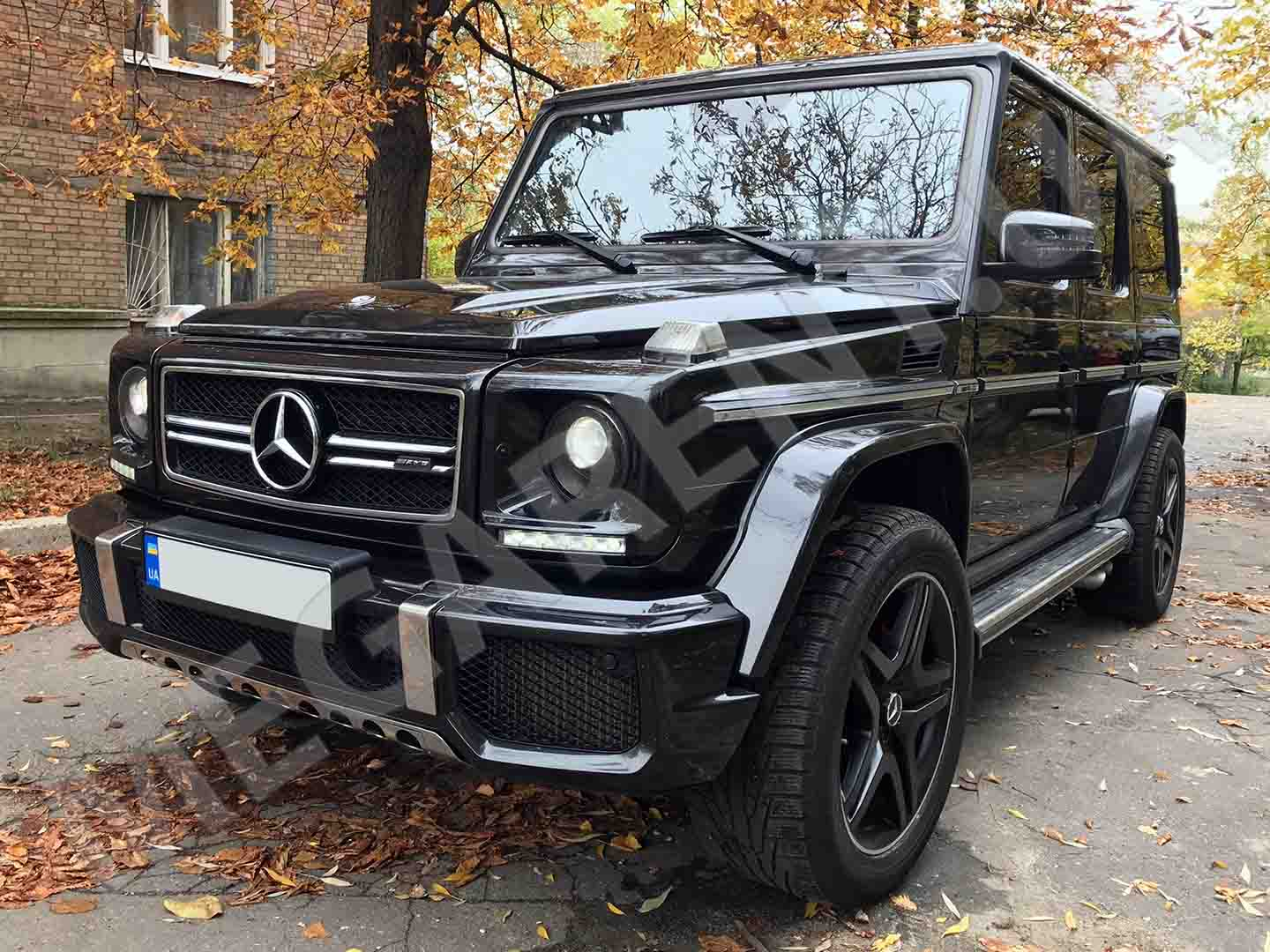 Car rental Mercedes Benz G 63 AMG in Kyiv - photo 2