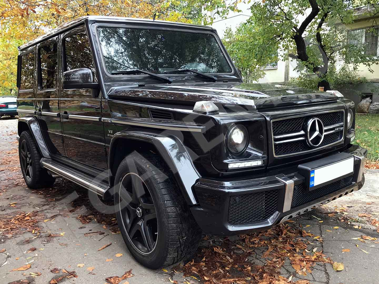 Car rental Mercedes Benz G 63 AMG in Kyiv - photo 3