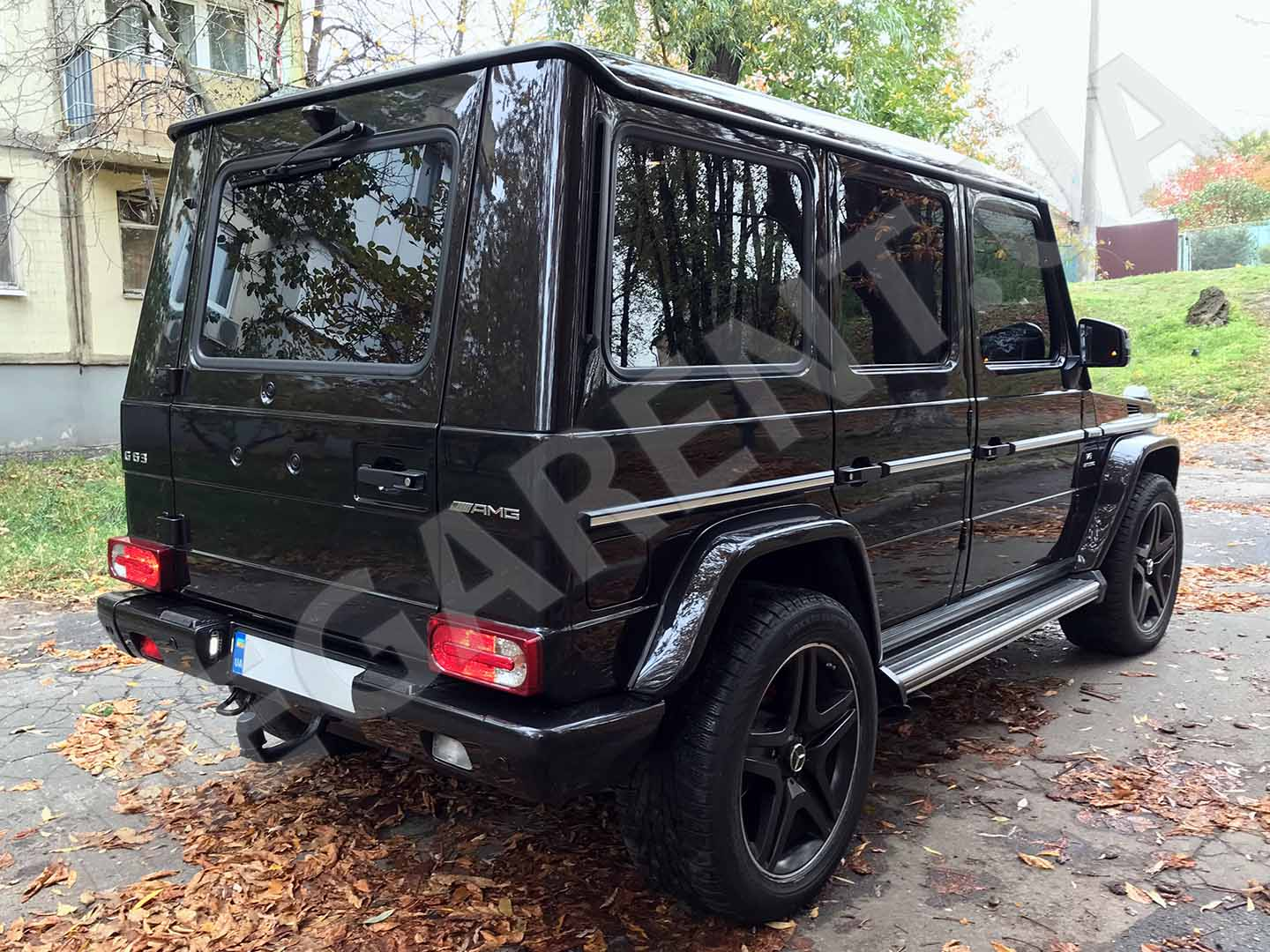 Car rental Mercedes Benz G 63 AMG in Kyiv - photo 4