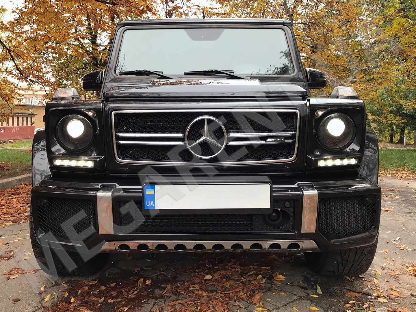 Car rental Mercedes Benz G 63 AMG in Kyiv - photo 6