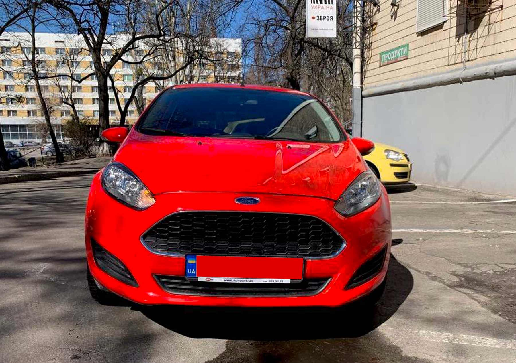 Car rental Ford Fiesta in Kyiv - photo 2