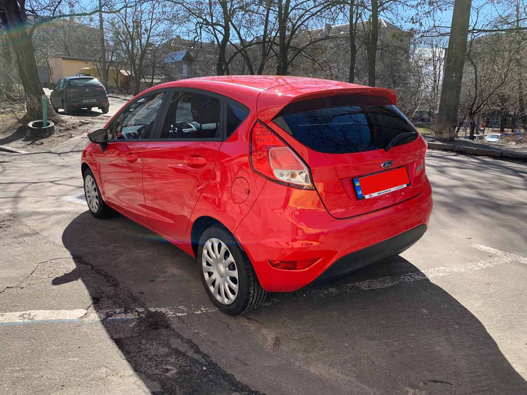 Car rental Ford Fiesta in Kyiv - photo 3