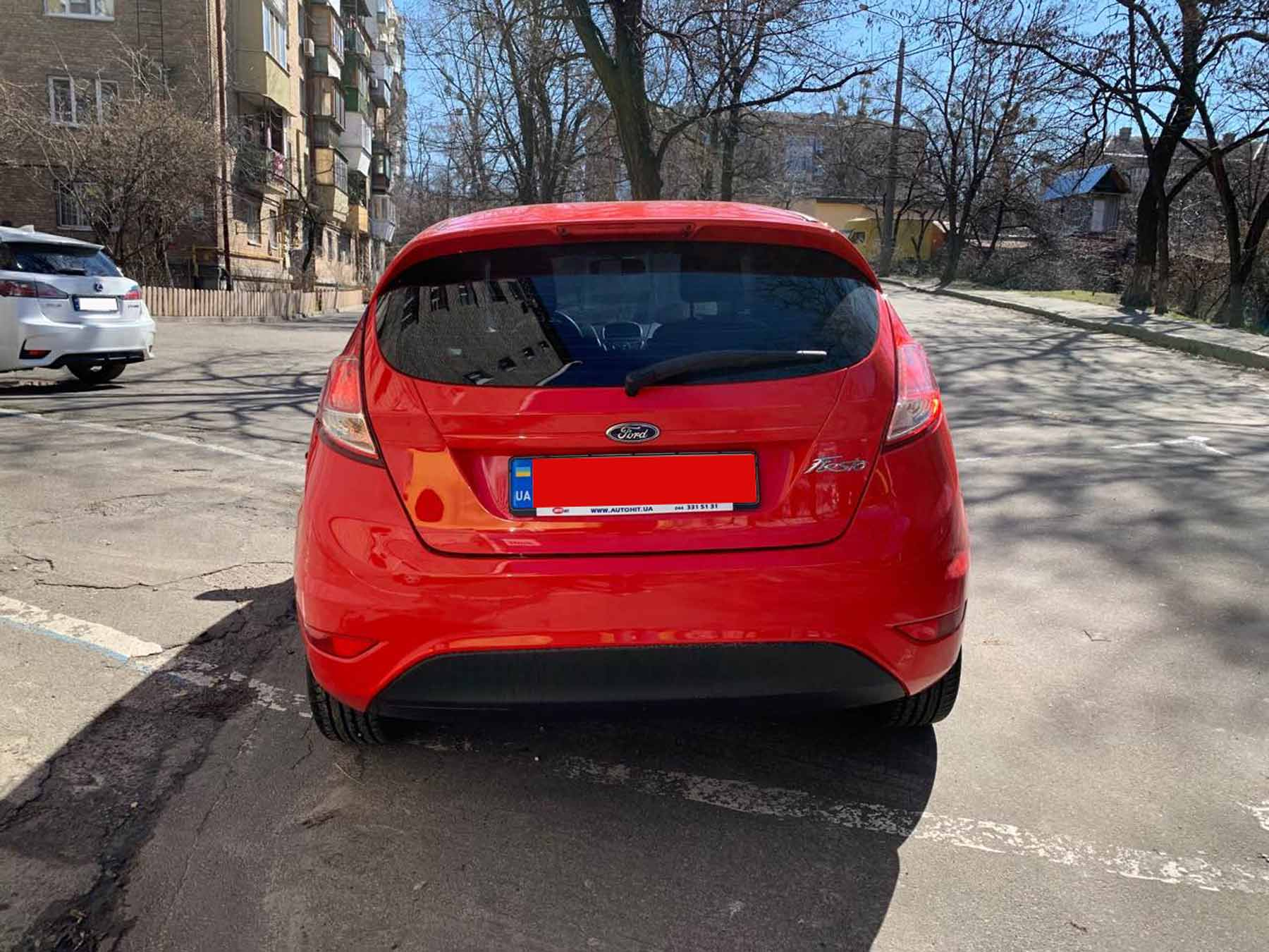 Car rental Ford Fiesta in Kyiv - photo 5