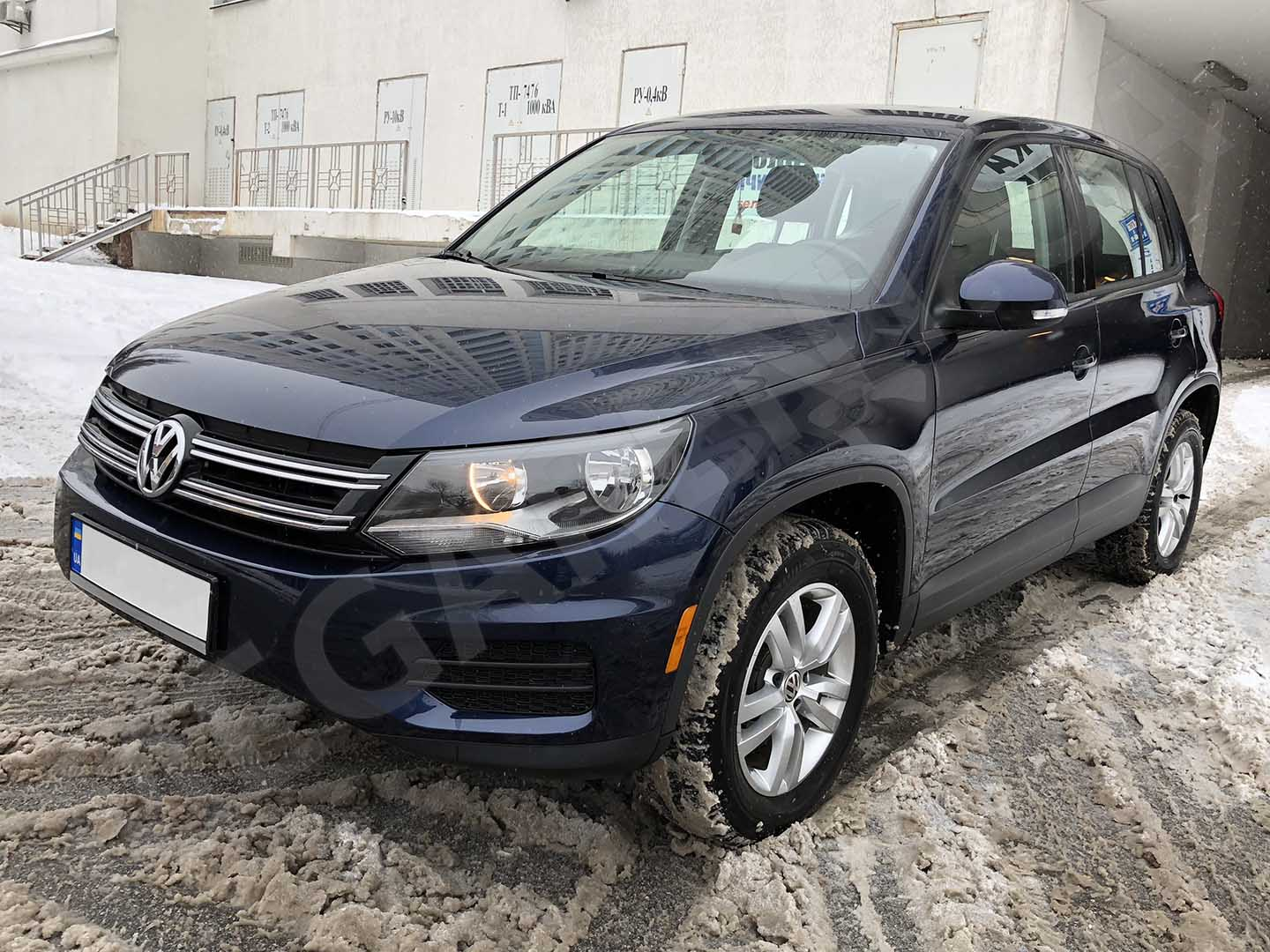 Car rental Volkswagen Tiguan 2014 in Kiev - photo 2