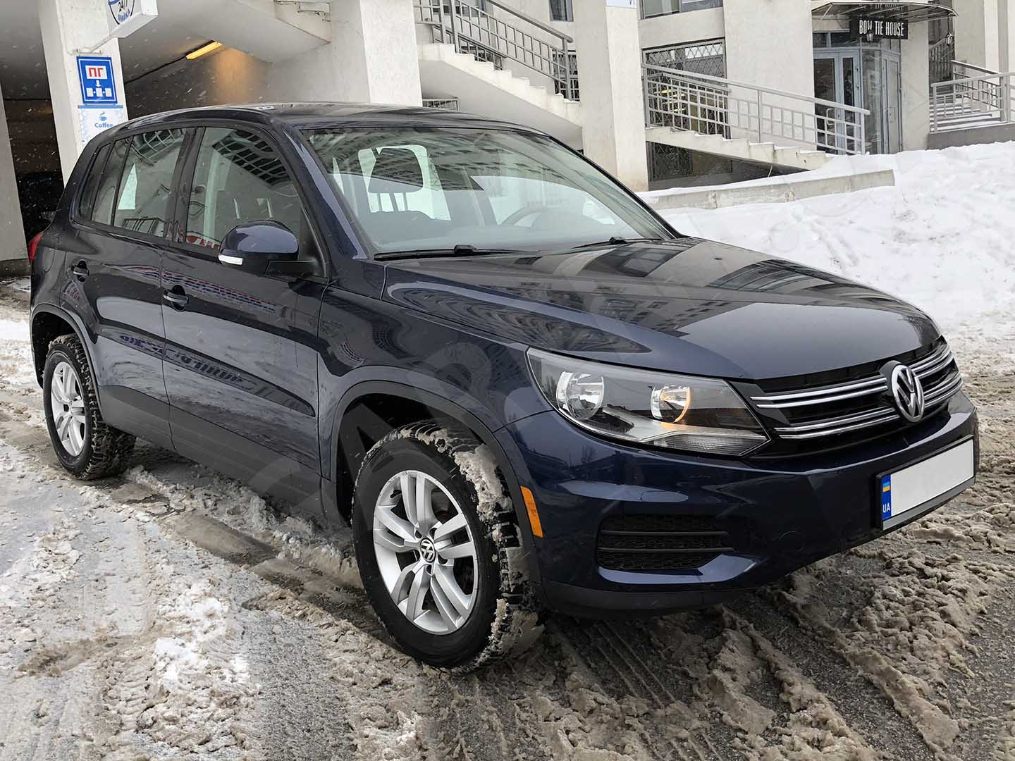 Car rental Volkswagen Tiguan 2014 in Kiev - photo 3
