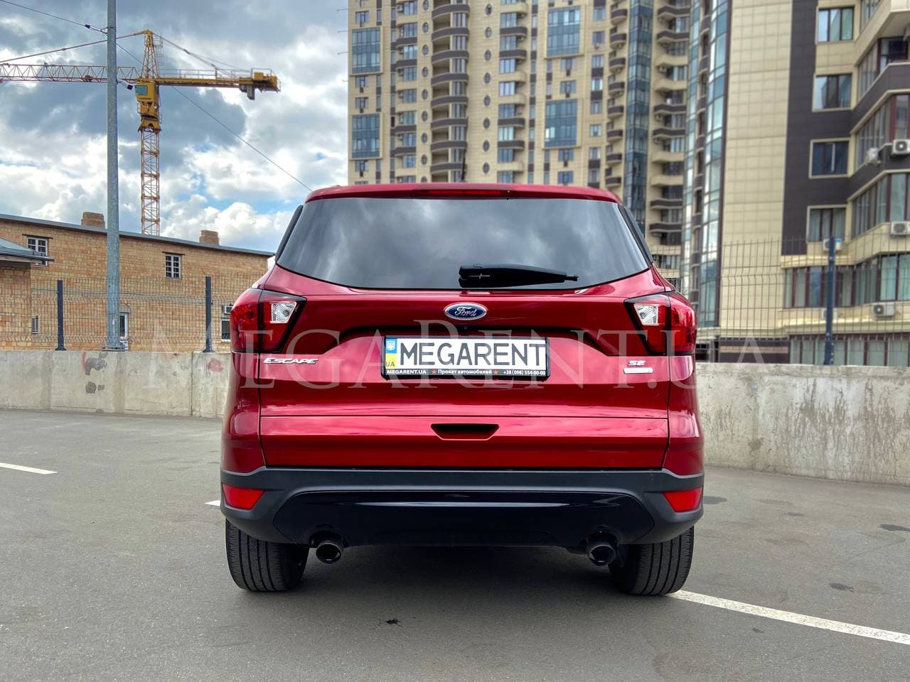Прокат авто Ford Escape в Киеве - фото 7