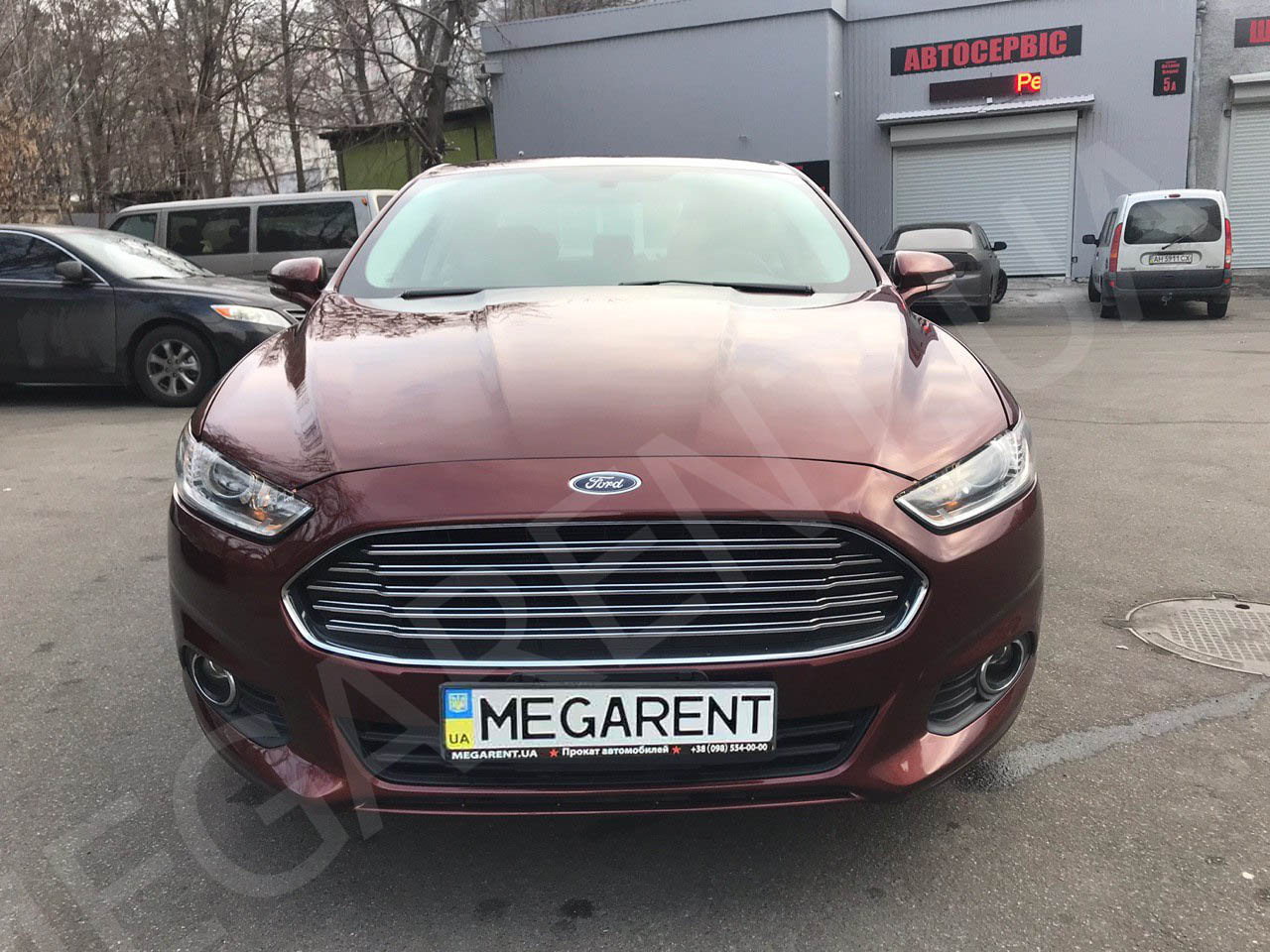 Car rental Ford Fusion (Mondeo) in Kyiv - photo 3