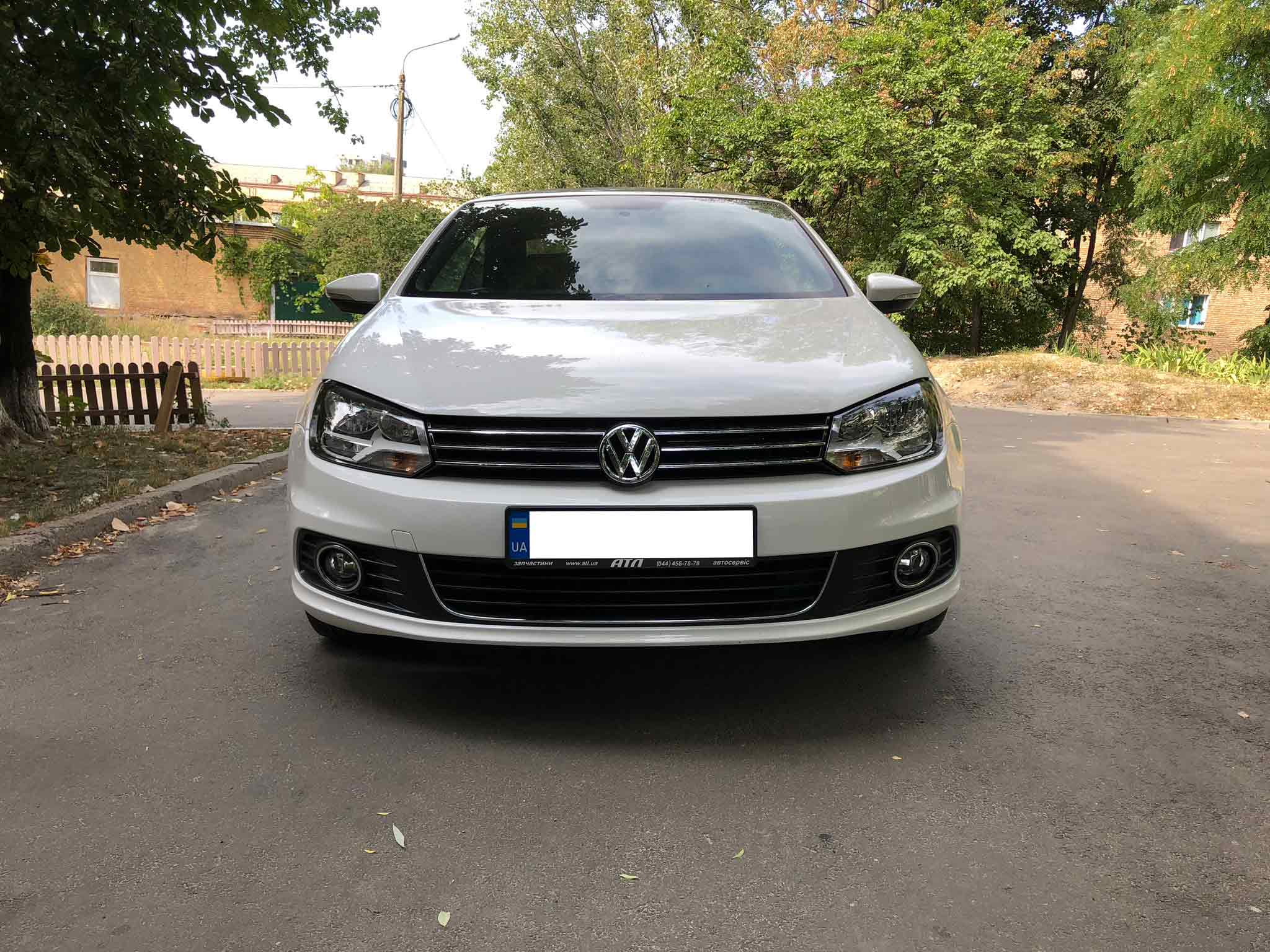 Car rental Volkswagen Eos in Kyiv - photo 7
