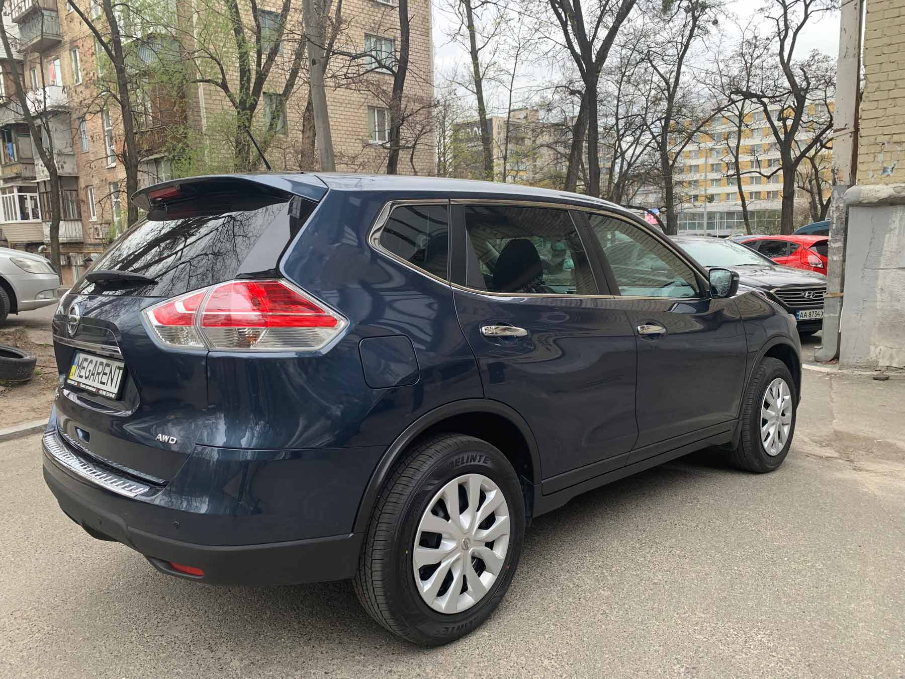 Car rental NISSAN X Trail 2016 in Kyiv - photo 5