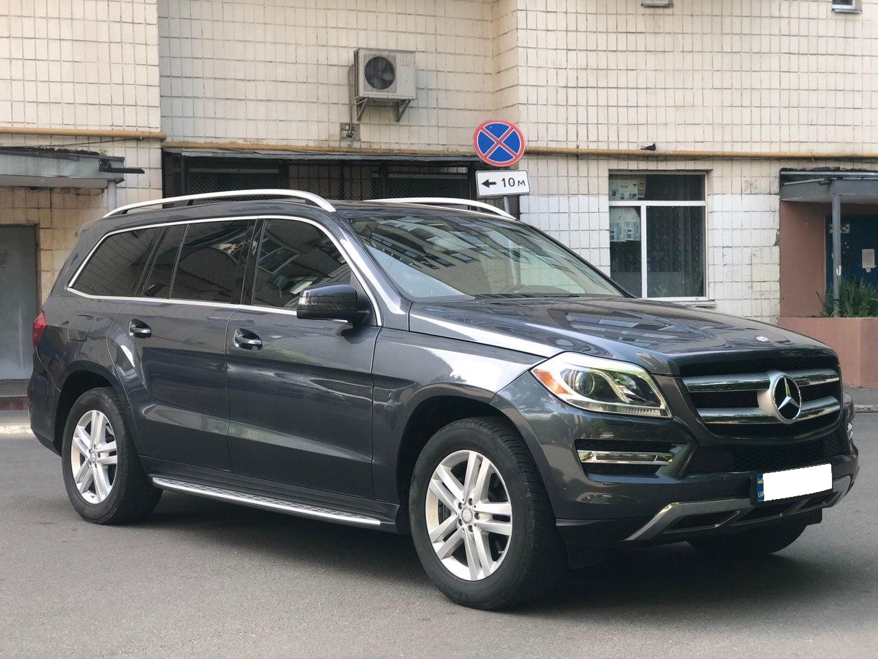 Car rental Mercedes-Benz GL 450 4MATIC in Kyiv - photo 4