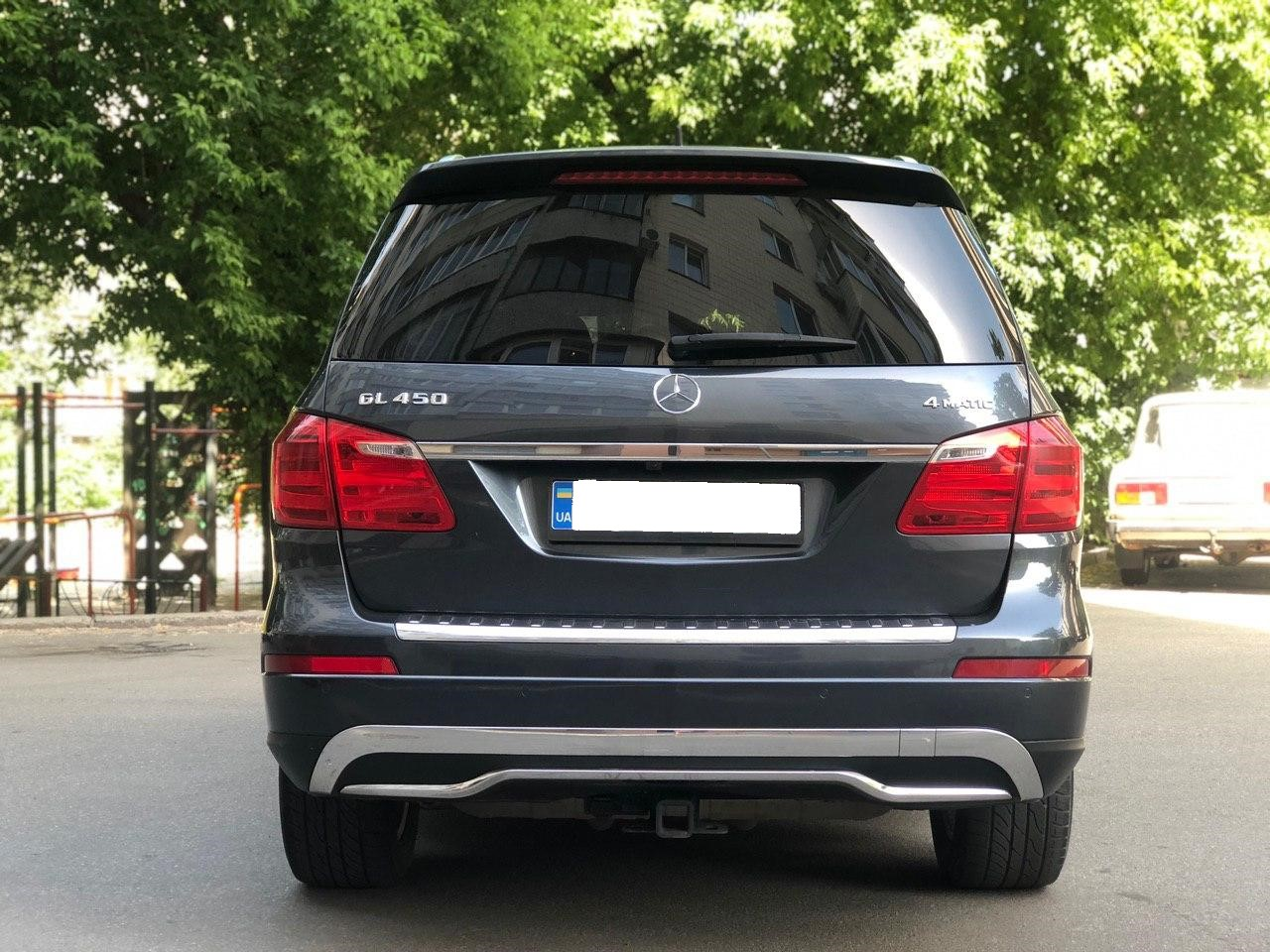 Car rental Mercedes-Benz GL 450 4MATIC in Kyiv - photo 5