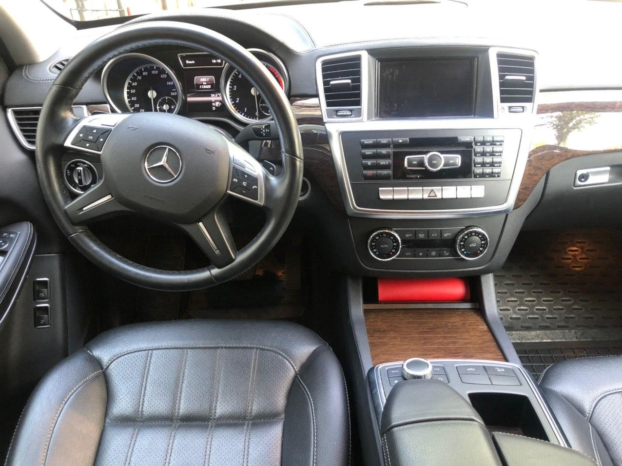 Car rental Mercedes-Benz GL 450 4MATIC in Kyiv - photo 8