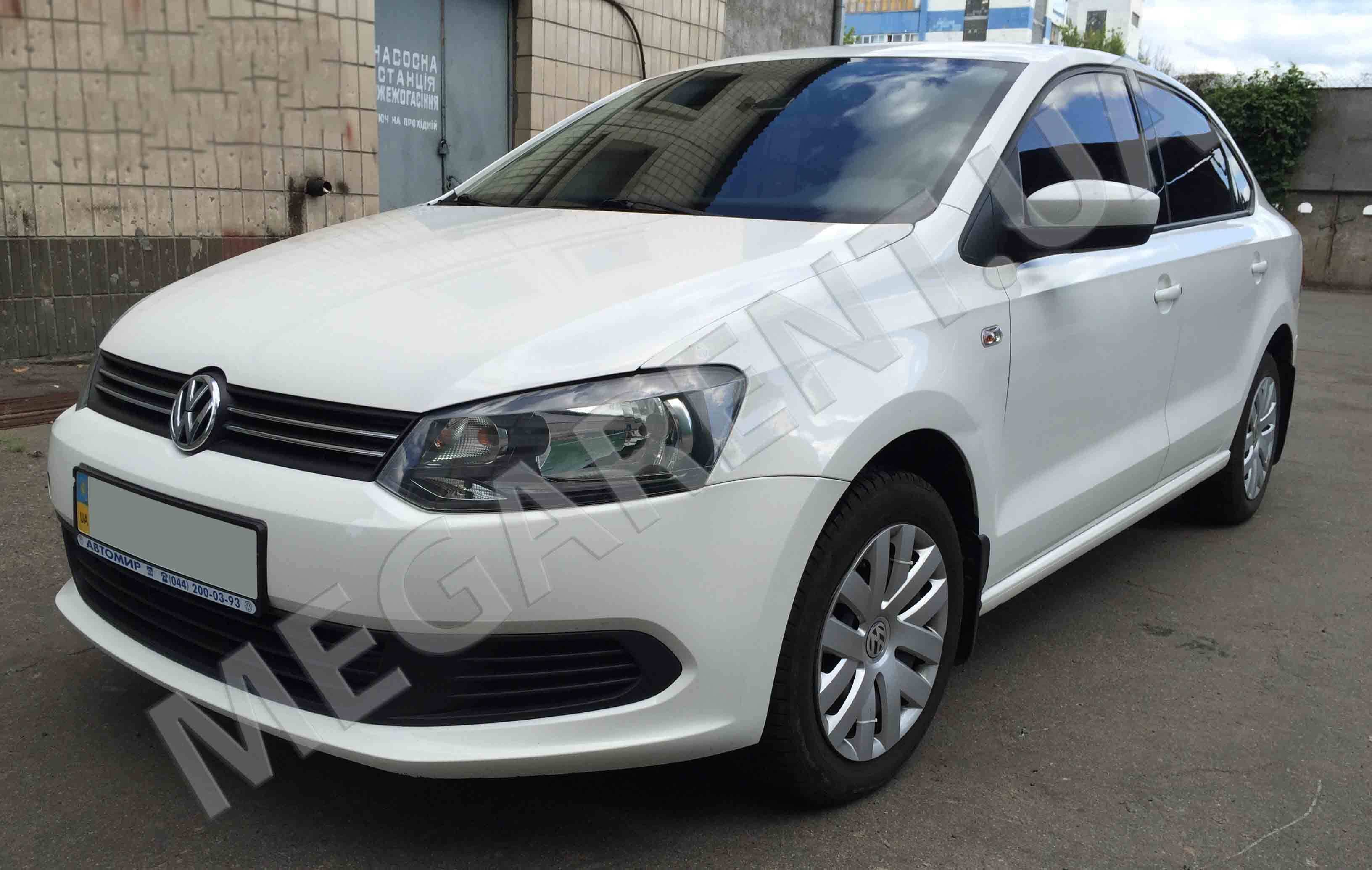 Прокат авто Volkswagen Polo sedan 2013 в Киеве - фото 2