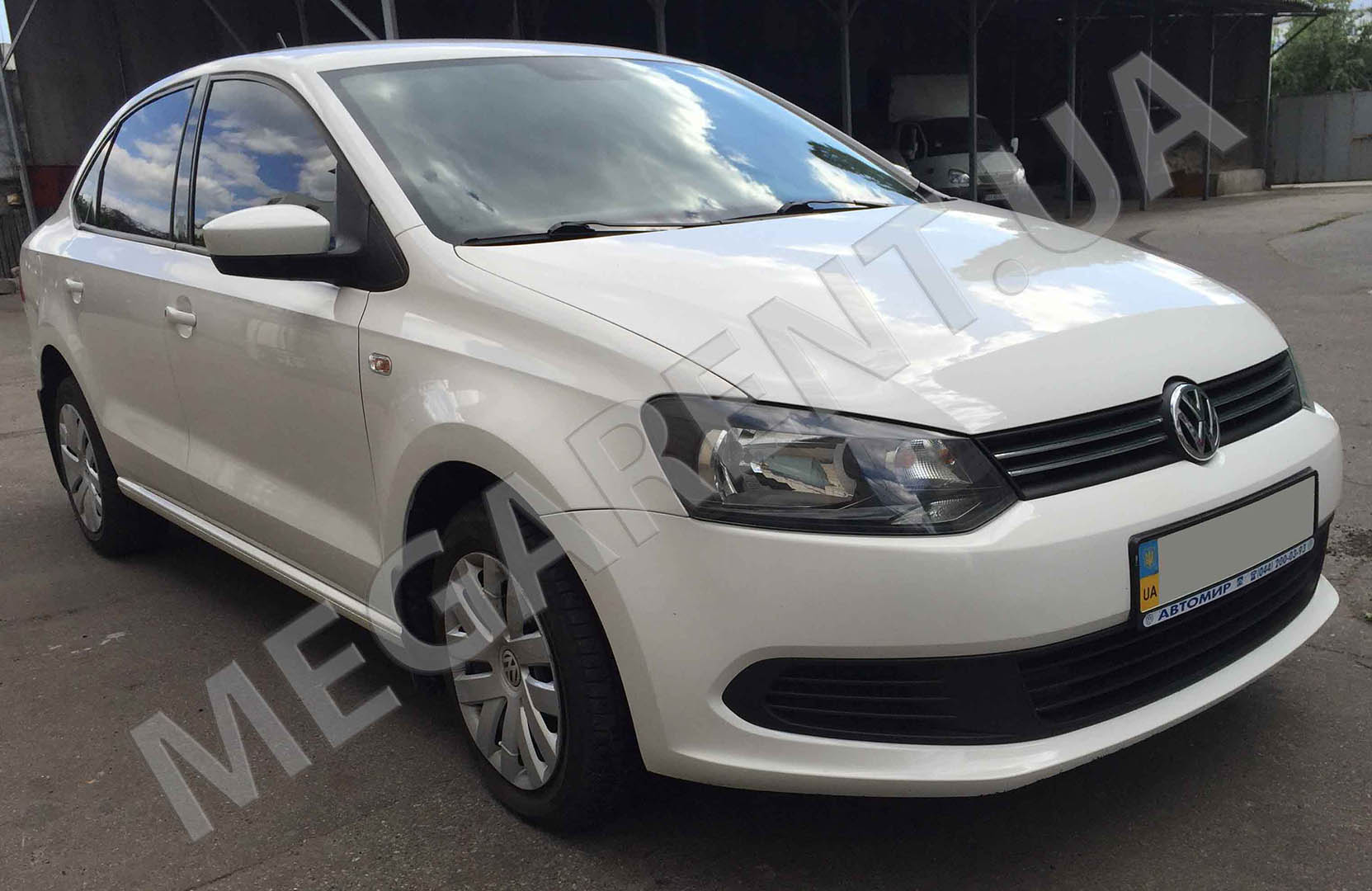 Прокат авто Volkswagen Polo sedan 2013 в Киеве - фото 3