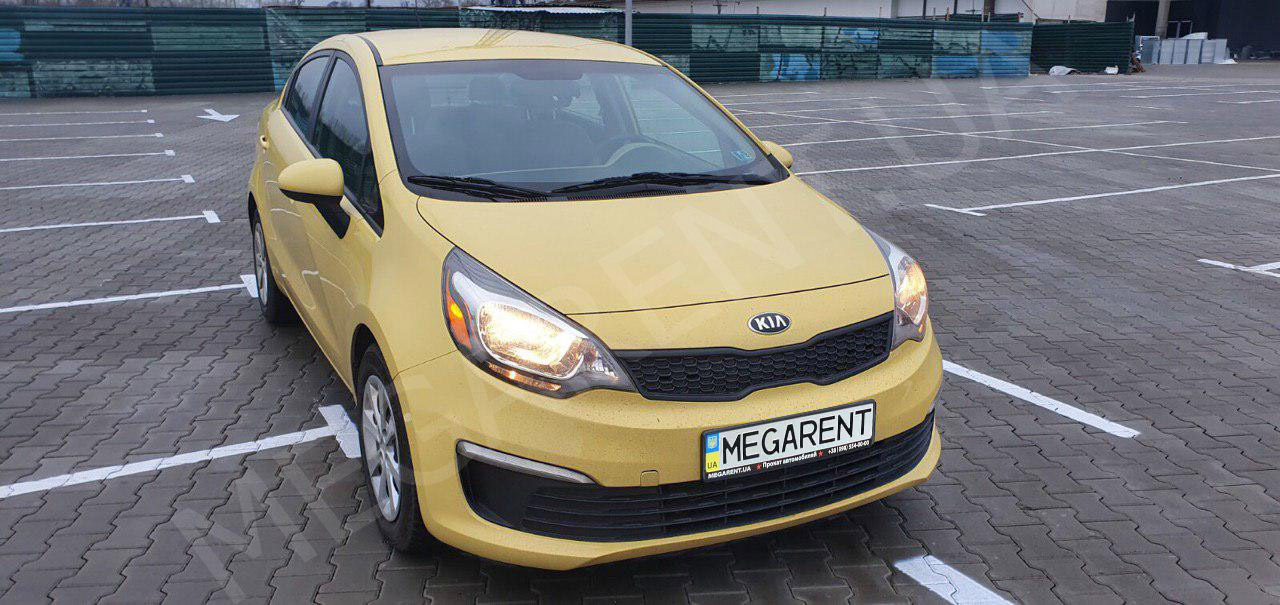 Car rental Kia Rio 2013 in Kyiv - photo 2