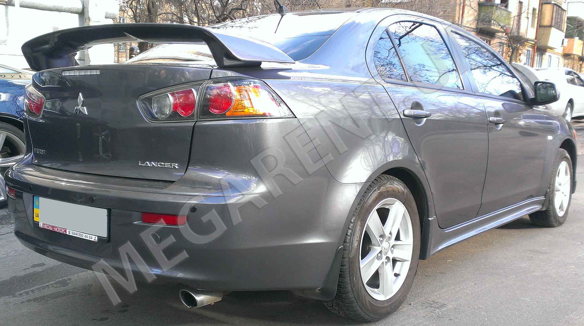 Car rental Mitsubishi Lancer X 2009 in Kiev - photo 4