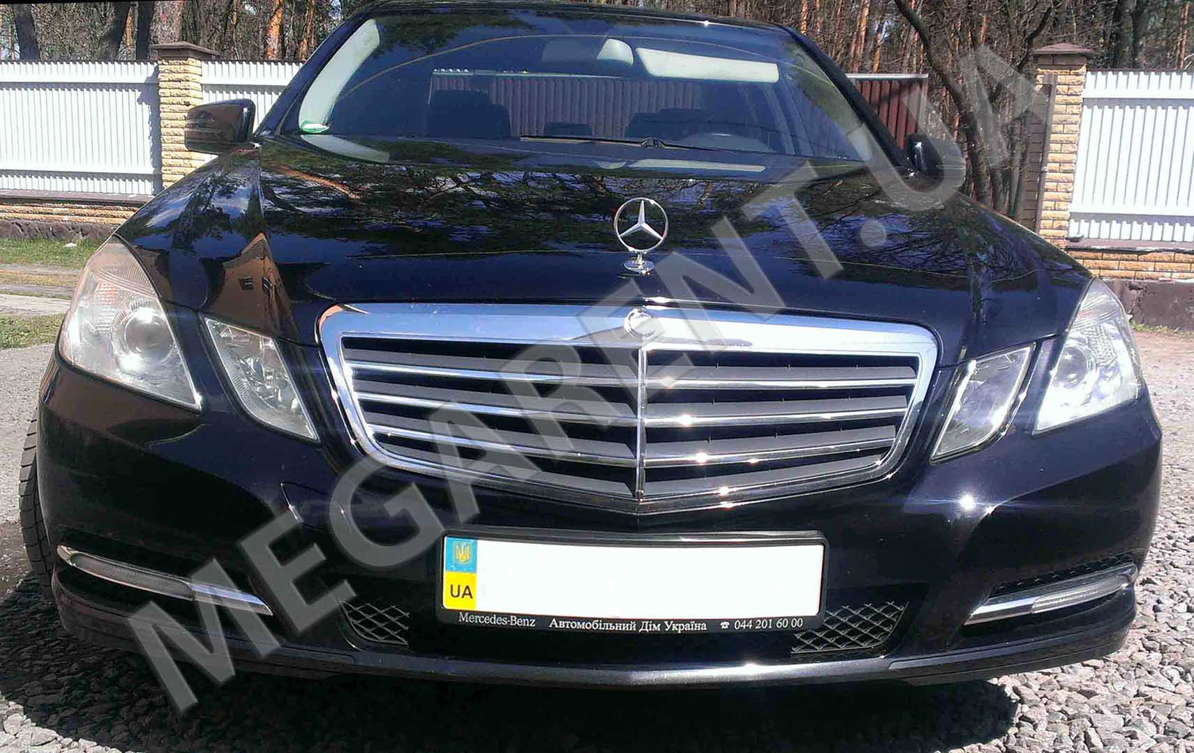 Car rental Mercedes E-class W212 2012 in Kiev - photo 2