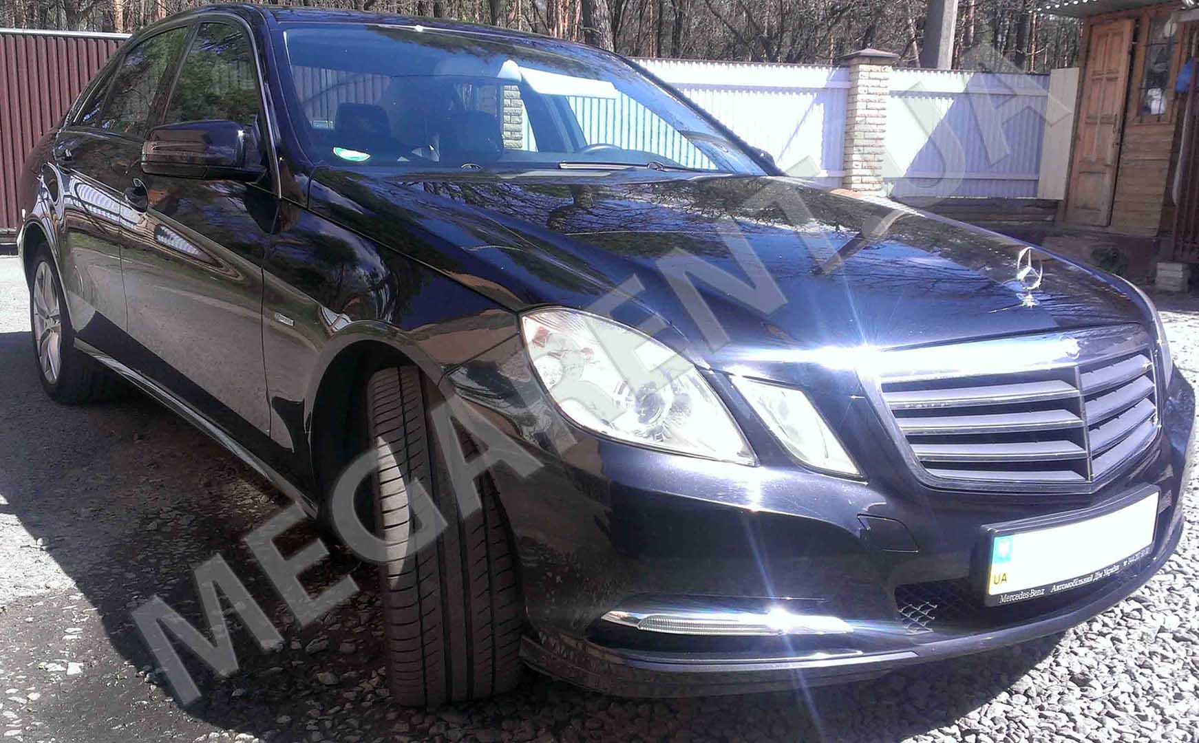 Car rental Mercedes E-class W212 2012 in Kiev - photo 3