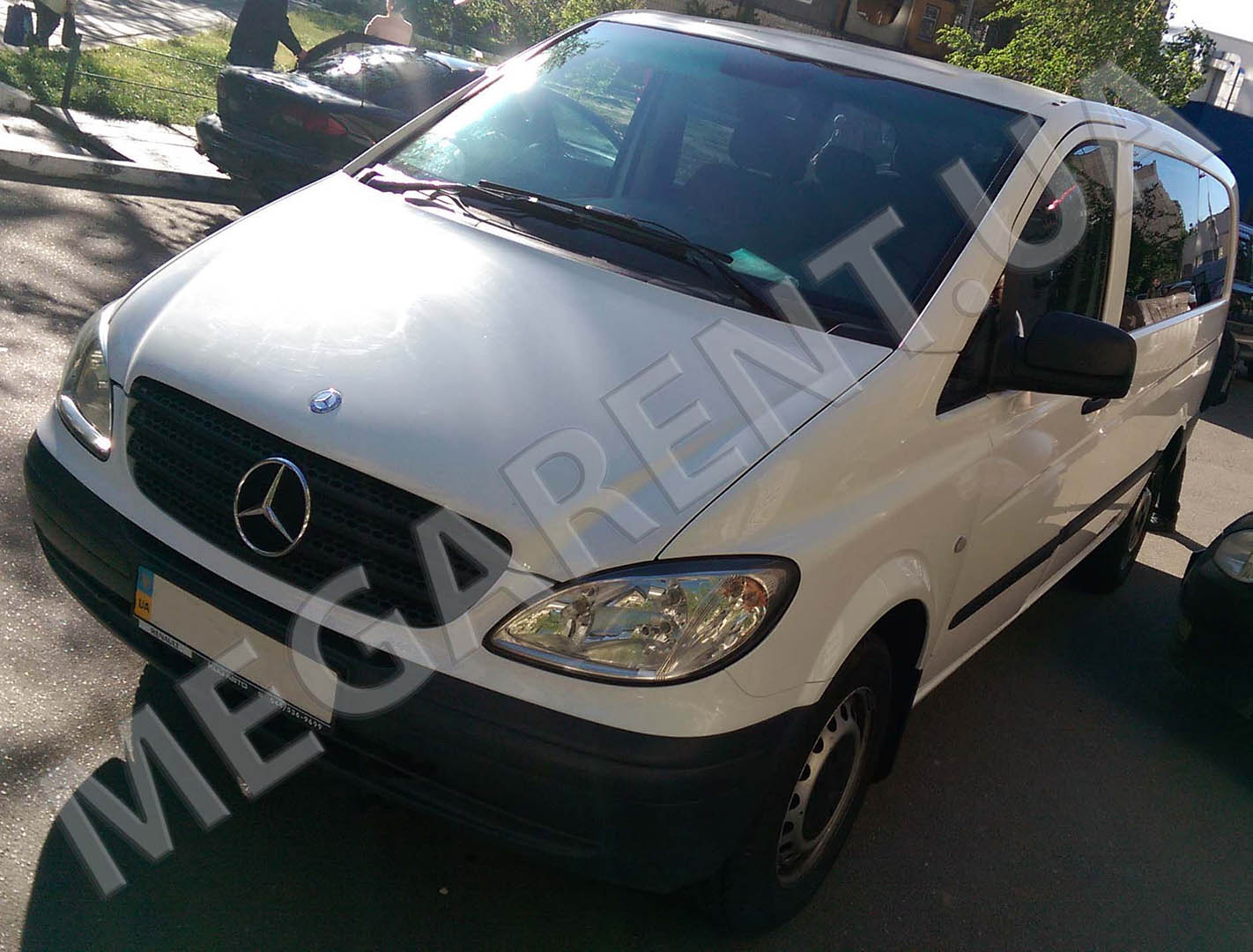 Car rental Mercedes Vito 2010 in Kiev - photo 2