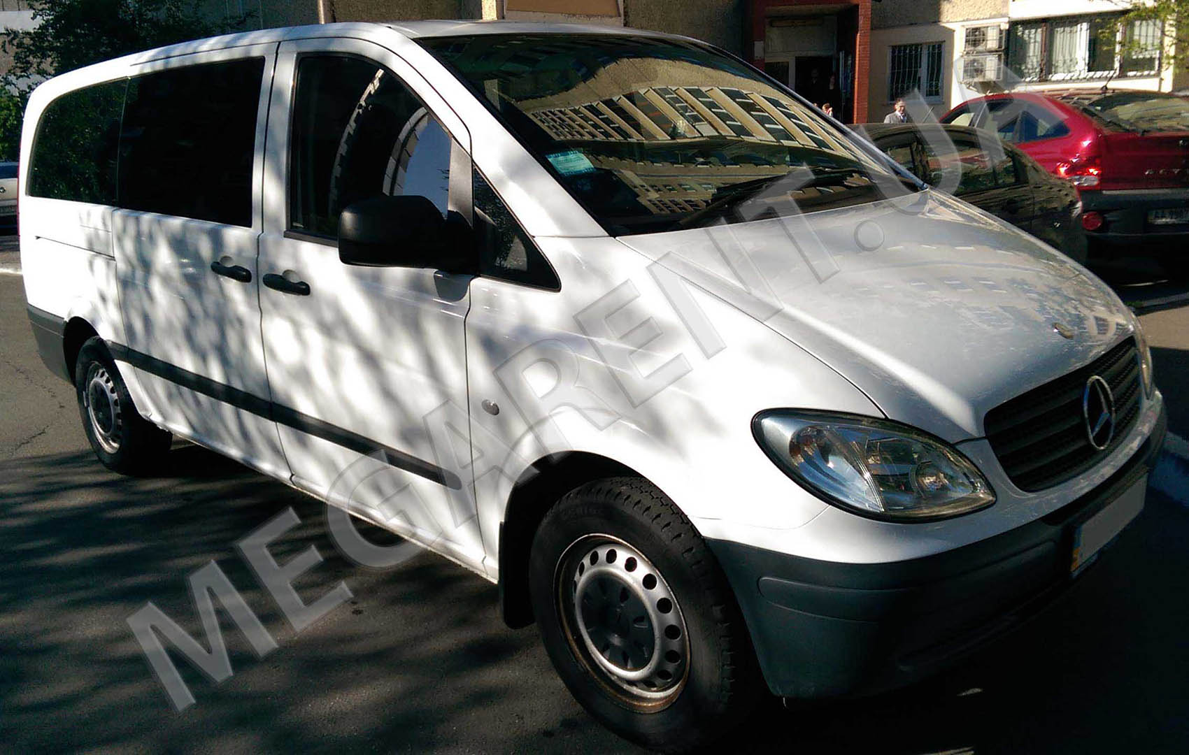 Car rental Mercedes Vito 2010 in Kiev - photo 3