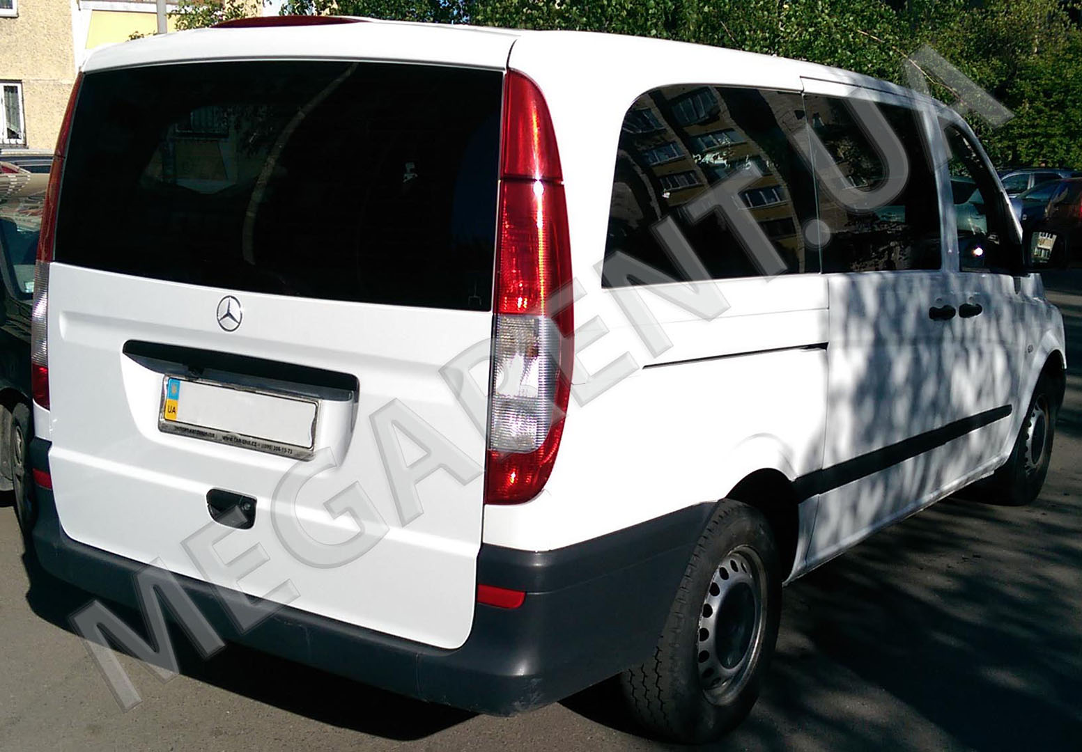 Car rental Mercedes Vito 2010 in Kiev - photo 4