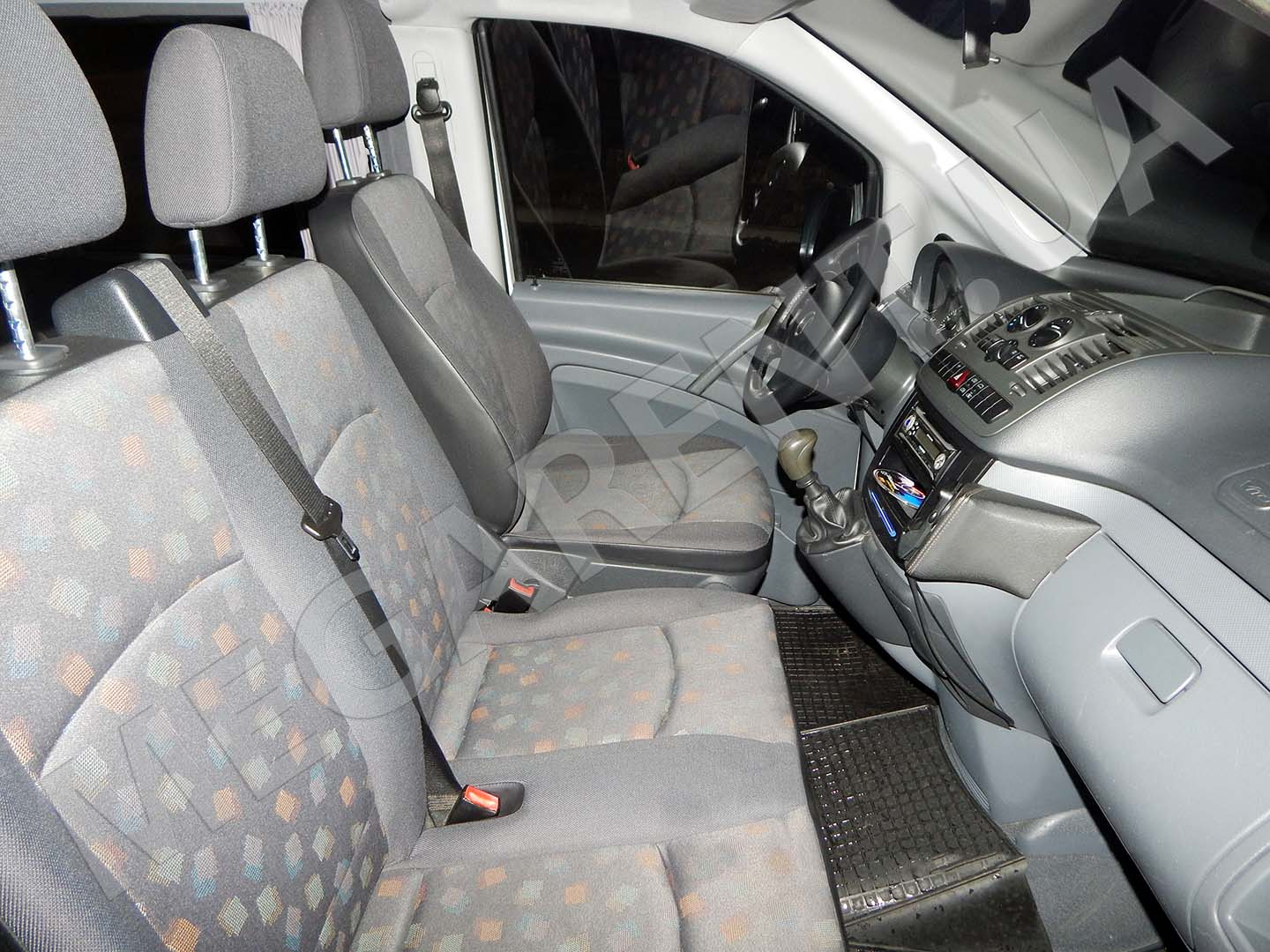 Car rental Mercedes Vito 2010 in Kiev - photo 6