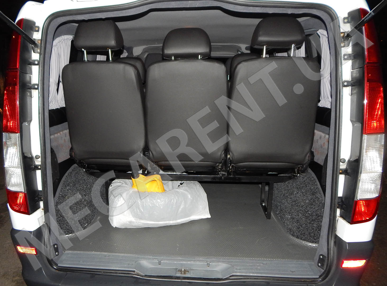 Car rental Mercedes Vito 2010 in Kiev - photo 8