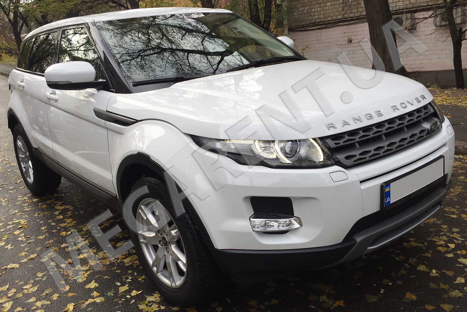Car rental Range Rover Evoque 2017 in Kyiv - photo 3