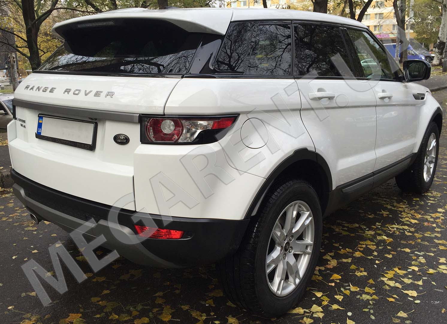 Car rental Range Rover Evoque 2017 in Kyiv - photo 4