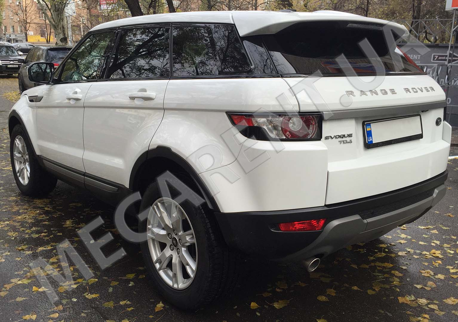 Car rental Range Rover Evoque 2017 in Kyiv - photo 5