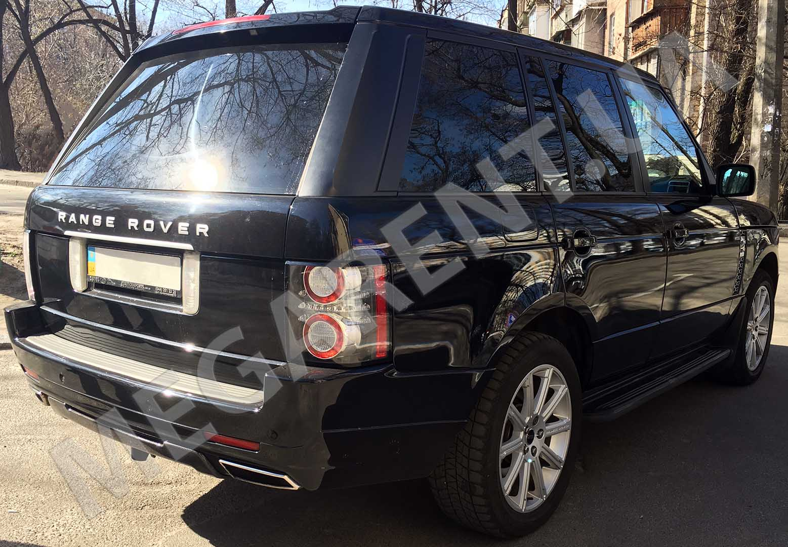Car rental Land Rover Range Rover Vogue in Kiev - photo 4