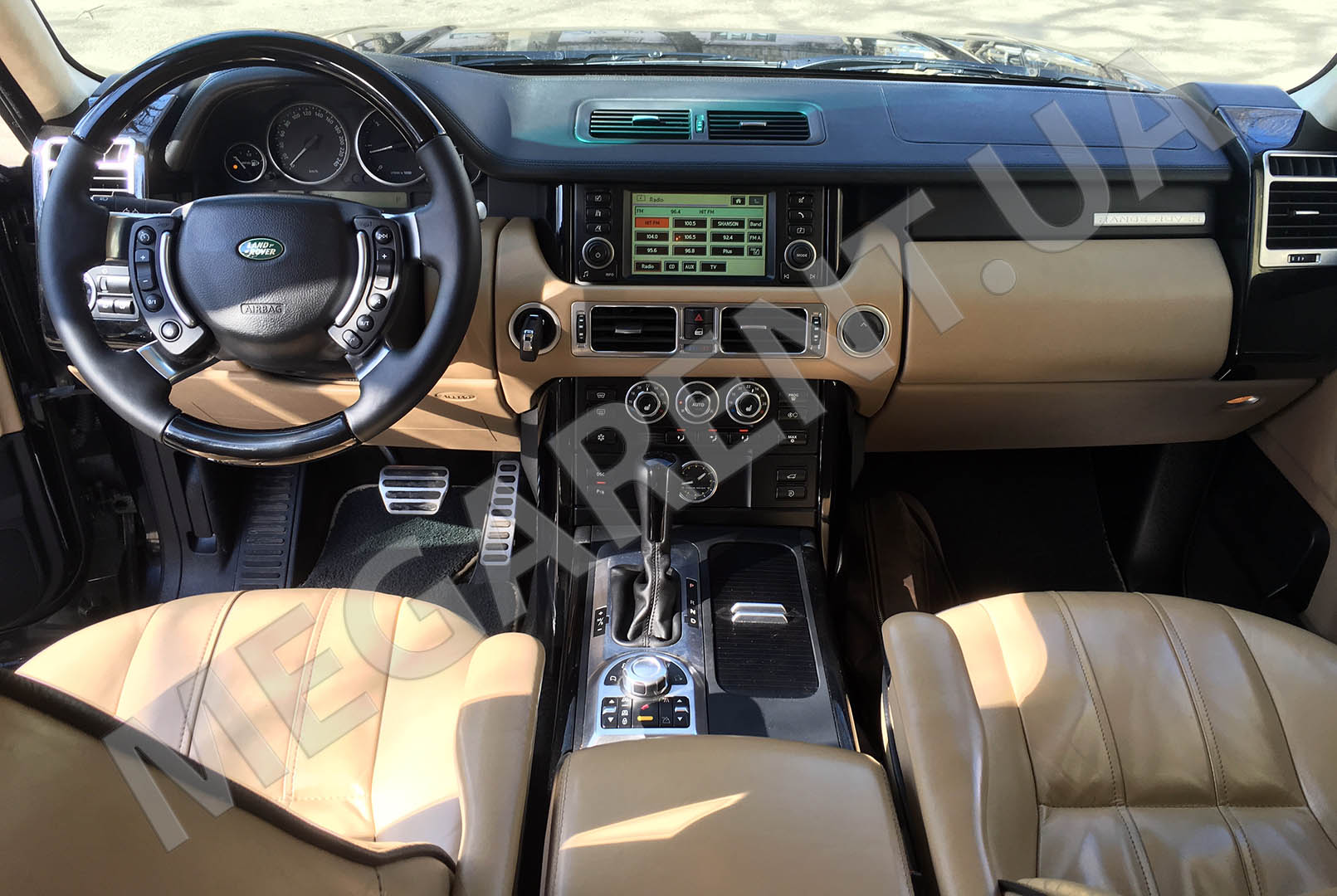 Car rental Land Rover Range Rover Vogue in Kiev - photo 6
